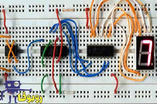 پروژه آماده ساخت مدار الکترونیکی شمارنده یا کنتور دیجیتال با آی سی 555