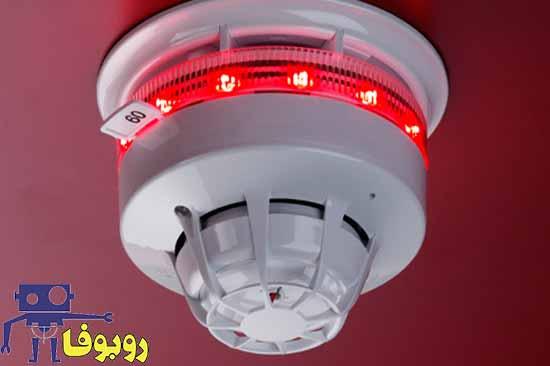پروژه الکترونیکی زنگ خطر آتش سوزی با آی سی 555