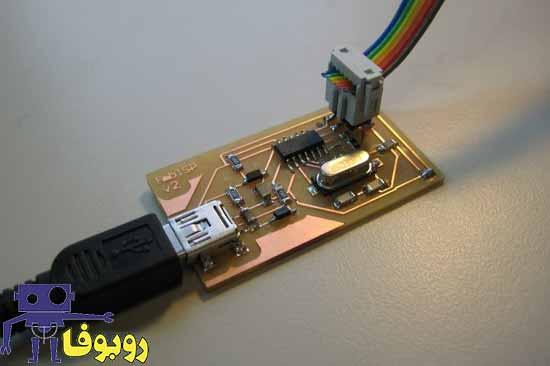 پروژه ساخت پروگرامر isp برای میکروکنترلر Atmega32