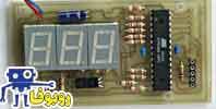 پروژه ساخت ولتمتر دیجیتال با میکروکنترلر 8051