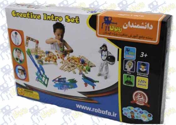 بسته آموزشی خلاقیت کودکان دانشمندان روبوفا