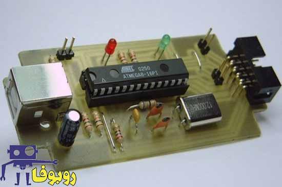 پروژه ساخت پروگرامر usb برای میکروکنترلرهای AVR با کابل ارتباطی usb